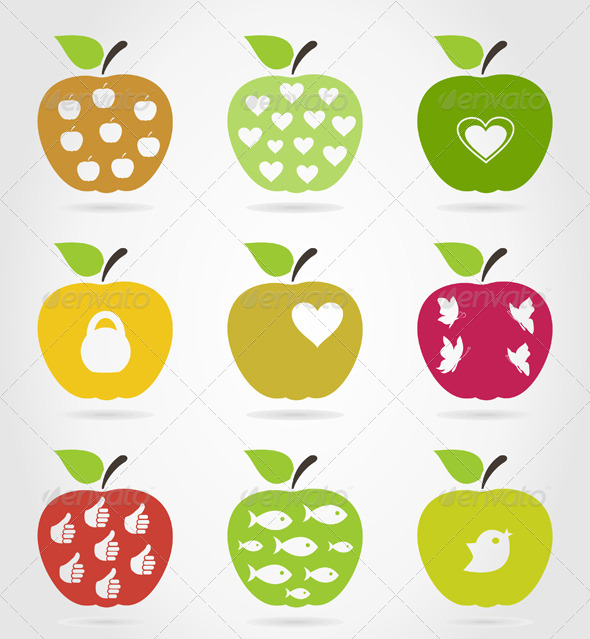 Apple Icons 3 - Food Objects