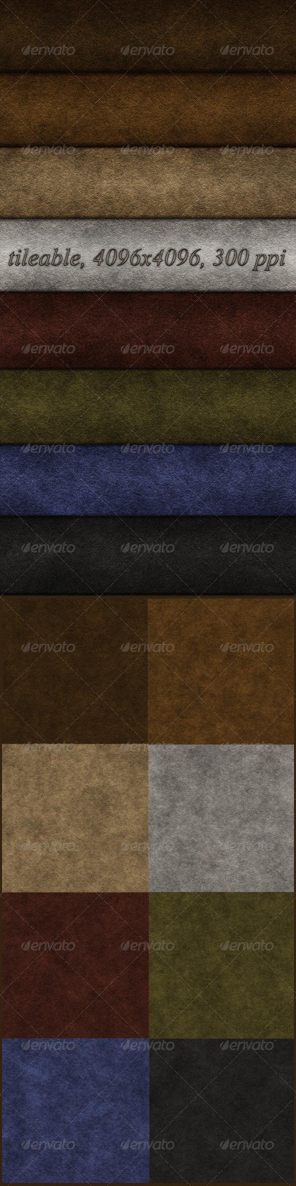 8 Suede Textures - Fabric Textures