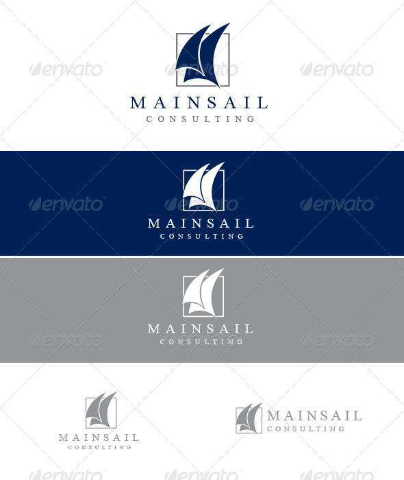 Mainsail Consulting - Abstract Logo Templates