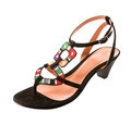 Ethnic knit heel sandal - PhotoDune Item for Sale
