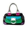 Color block patent leather handbag - PhotoDune Item for Sale