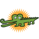 Little Croco Logo - GraphicRiver Item for Sale