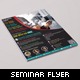 Security Seminar and Event Flyer - GraphicRiver Item for Sale