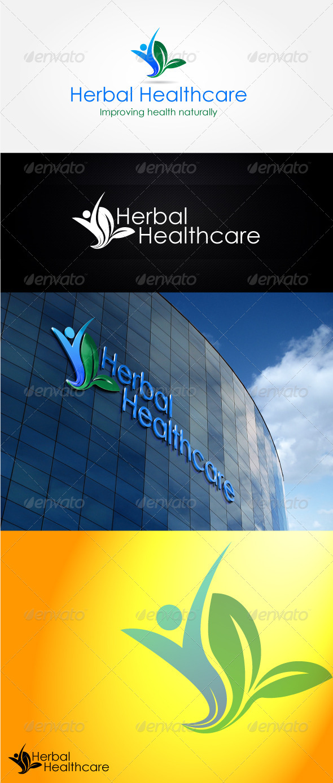 Herbal Healthcare Logo Design - Nature Logo Templates