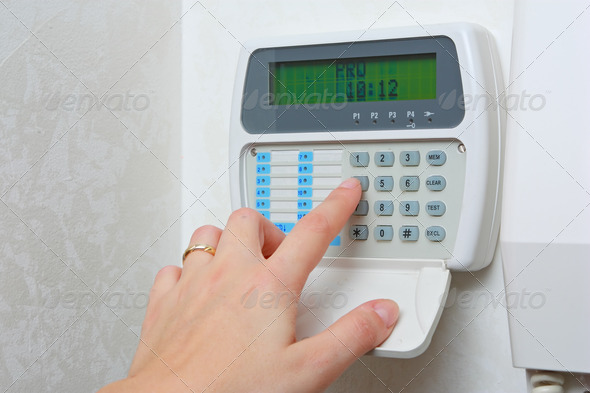 Alarm in house - Stock Photo - Images