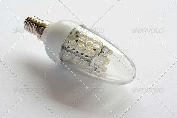 Led bulb - Stock Photo - Images