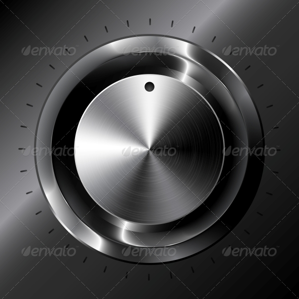 Black Metallic Vector Tuner - Media Technology