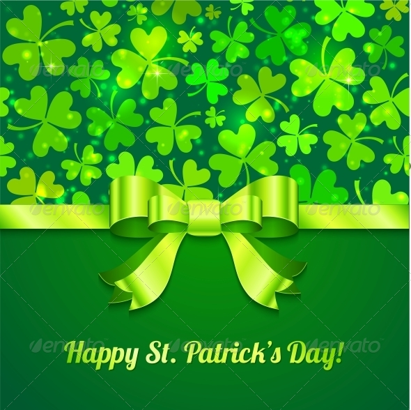 Saint Patrick's Day Greeting Card - Christmas Seasons/Holidays