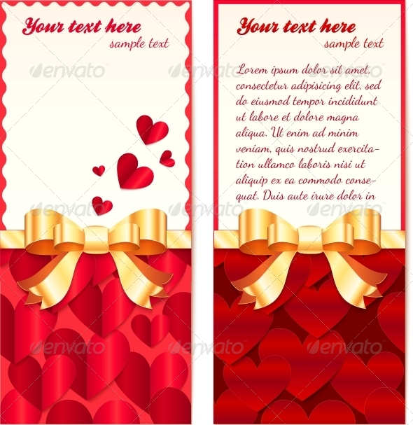 Valentines Day Greeting Cards Templates - Valentines Seasons/Holidays