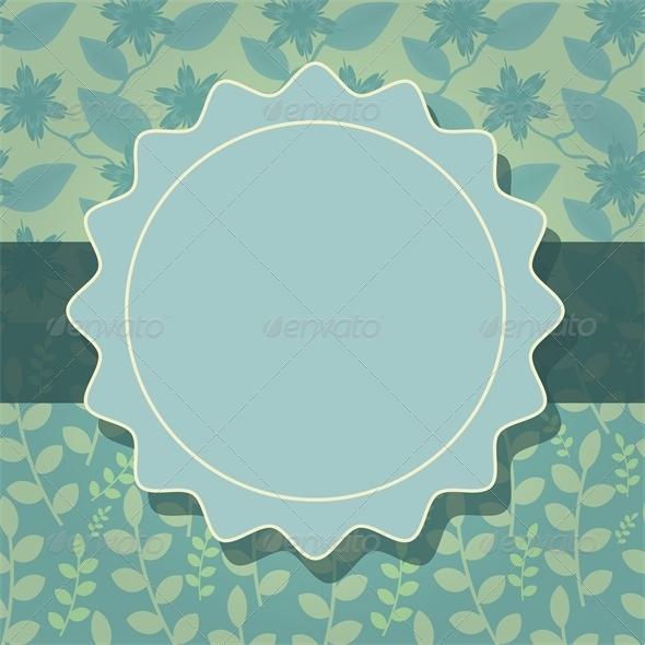 Card Template - Backgrounds Decorative