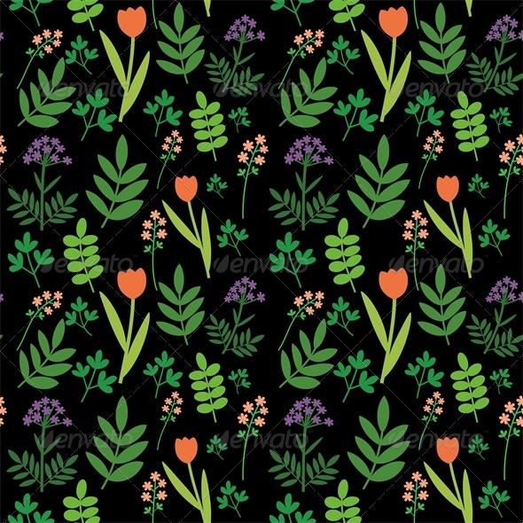Meadow Pattern - Patterns Decorative