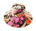 Flowery multicolor pattern floppy hat - PhotoDune Item for Sale