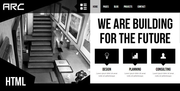 Arc – Responsive Architect Business Template