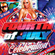 Fourth Of July Celebration Flyer - GraphicRiver Item for Sale