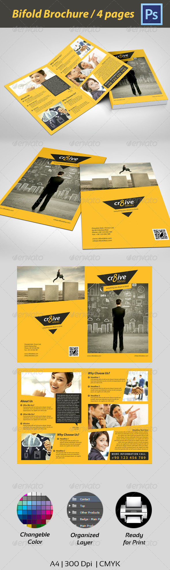 Multipurpose Corporate Brochure - Corporate Brochures