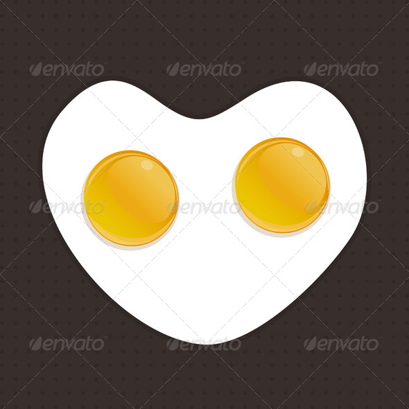 Fried Eggs - Food Objects