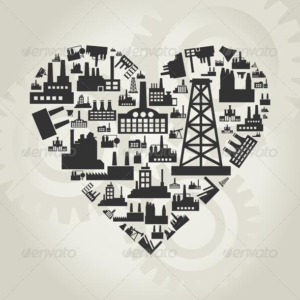 Industry Heart 2 - Valentines Seasons/Holidays