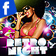 Retro Nights Facebook Timeline - GraphicRiver Item for Sale