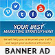 Social Media Web Banners 2.0 - GraphicRiver Item for Sale