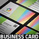 Colored Business Card - GraphicRiver Item for Sale