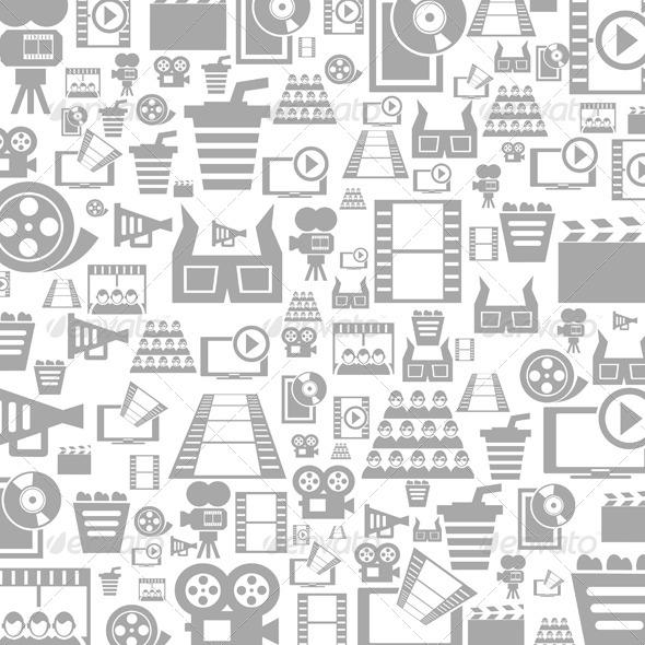 Cinema a Background - Miscellaneous Vectors