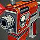 Low Poly Gun 03