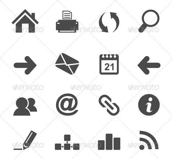 Icon the Internet 4 - Web Elements Vectors