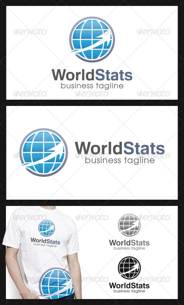 World Stats Logo Template - Symbols Logo Templates