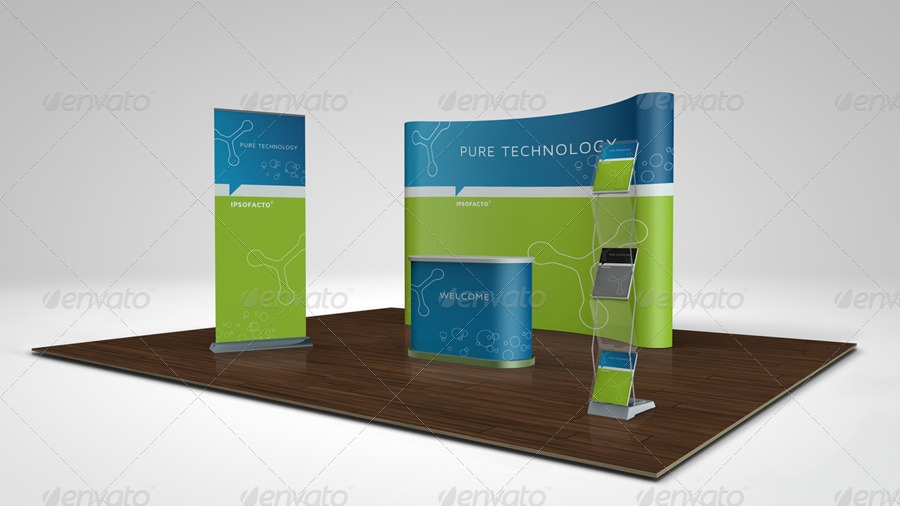 Exhibition Stall Mockup Psd : Trade show boot mock up by doa graphicriver