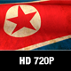 North Korea Flag Loop - VideoHive Item for Sale