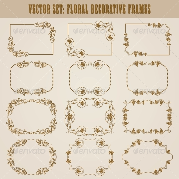 Decorative Frames - Borders Decorative