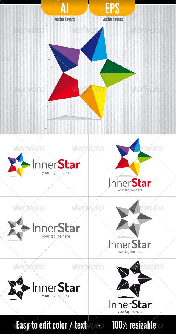 Inner Star - Vector Abstract