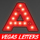 Vegas Casino Style Light Bulb Letters - GraphicRiver Item for Sale