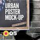Urban Poster Mock-Up v2 - GraphicRiver Item for Sale
