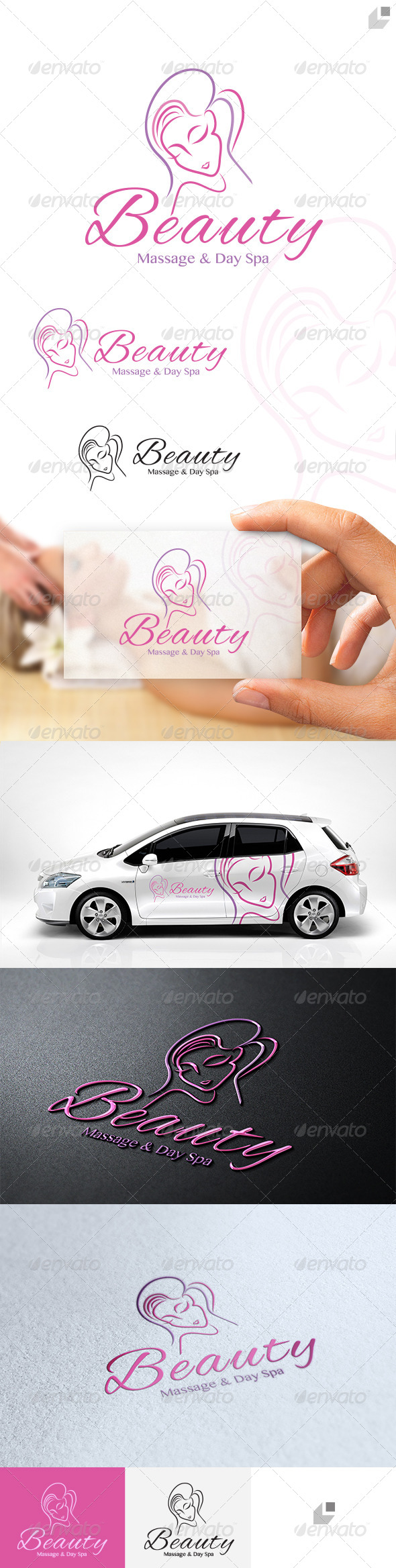 Beauty Logo - Humans Logo Templates
