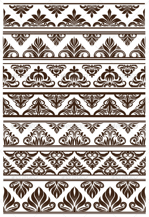 Frame Decorative Vector Set - Borders Decorative