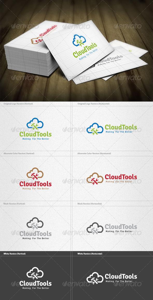 Cloud Tools Logo - Objects Logo Templates