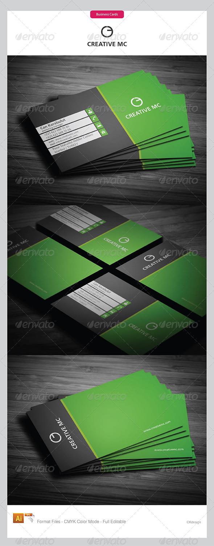 Corporate Business Cards 325 - Corporate Business Cards
