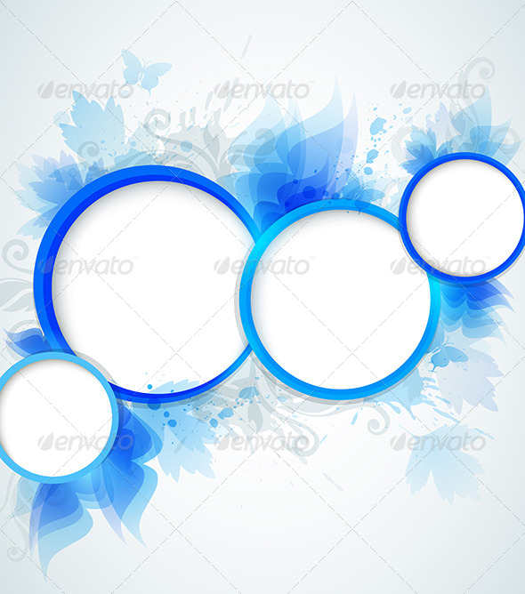Blue Abstraction - Backgrounds Decorative