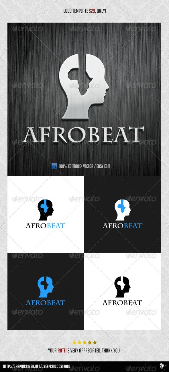 Afro Beat Logo Template - Abstract Logo Templates
