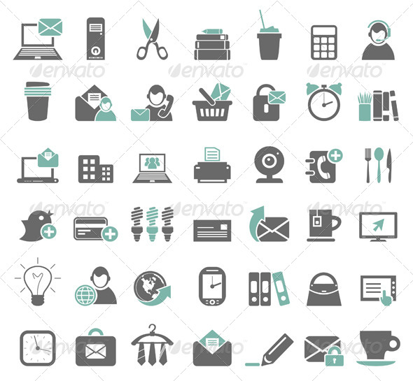 Office Icons 7 - Miscellaneous Vectors