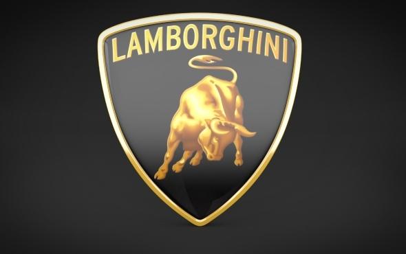 Lamborghini Logo By Niosdark 3docean
