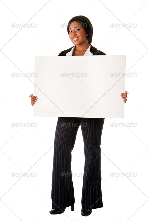 Corporate business sign - Stock Photo - Images