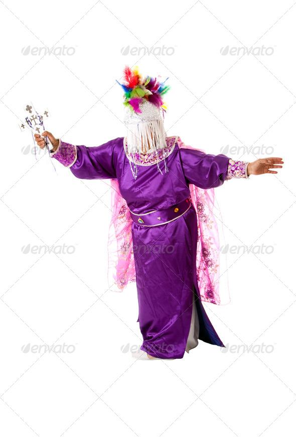 Religious exorcism folklore - Stock Photo - Images