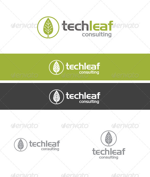 TechLeaf Consulting - Abstract Logo Templates