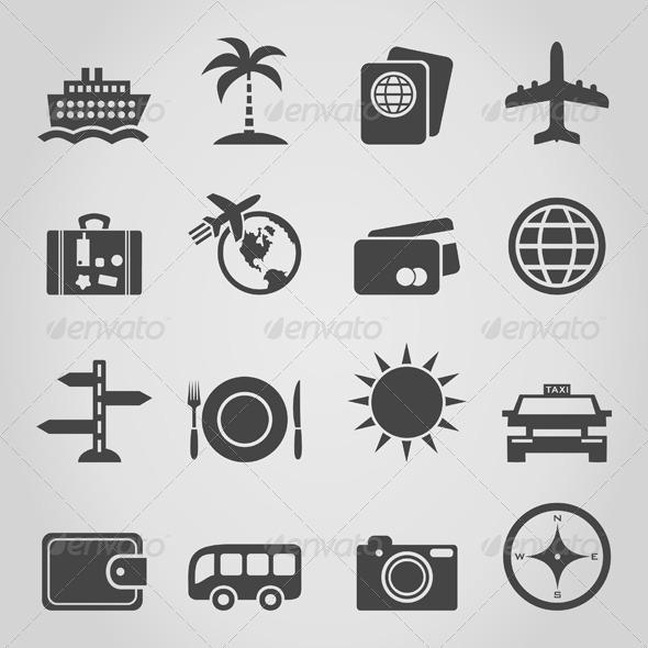 Travel an Icon - Miscellaneous Vectors