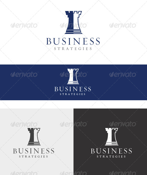 Business Strategies - Abstract Logo Templates
