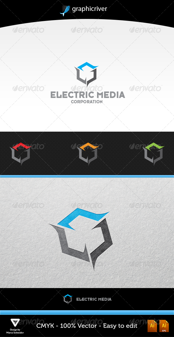 Electric Media - Symbols Logo Templates