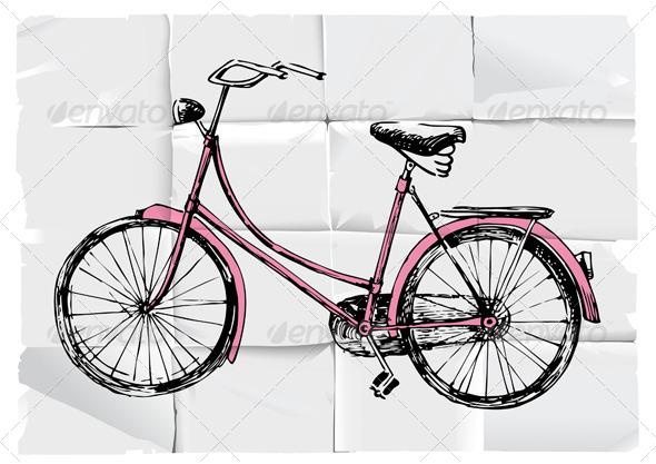 Retro Bicycle - Retro Technology