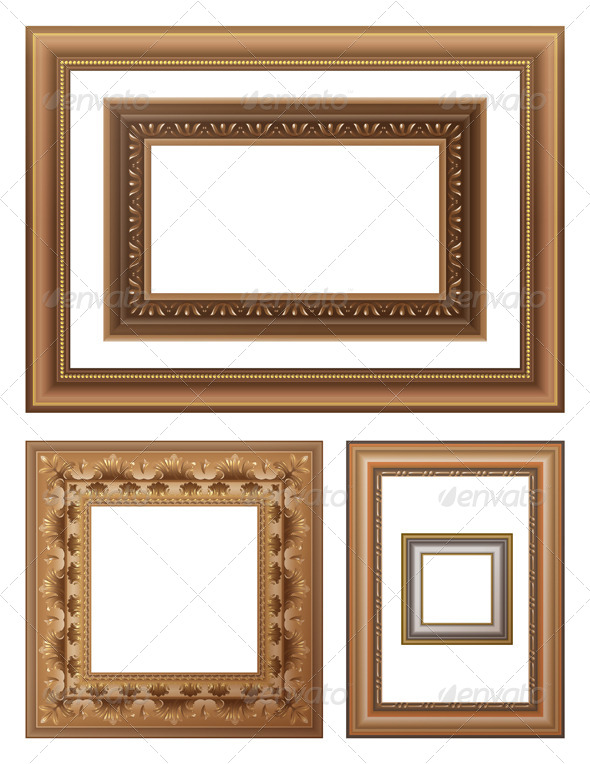 Picture Frames - Man-made Objects Objects